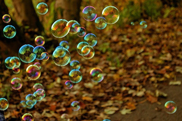 Bubbles, Soap Bubbles, Shiny, Colorful, Floating