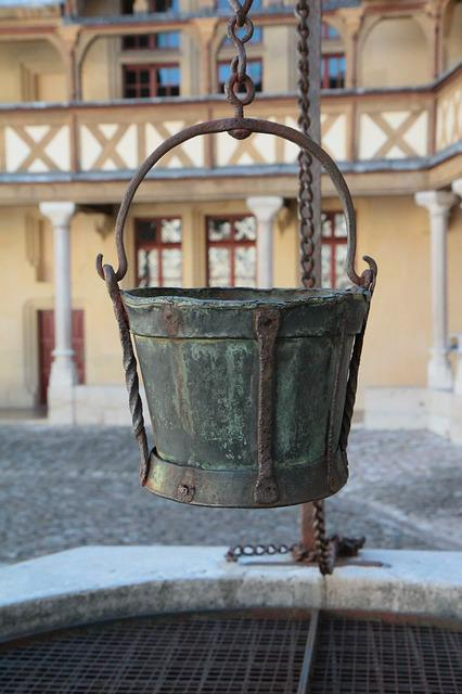 Beaune, The Hospices De Beaune, Bucket, Well