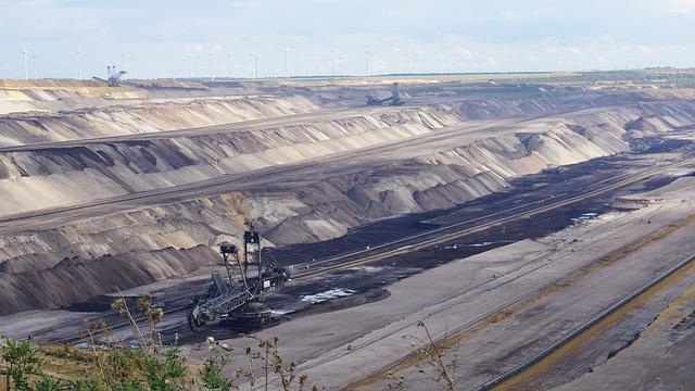 Open Pit Mining, Brown Coal, Bucket Wheel Excavators