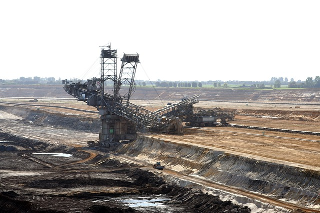 Brown Coal, Open Pit Mining, Bucket Wheel Excavators