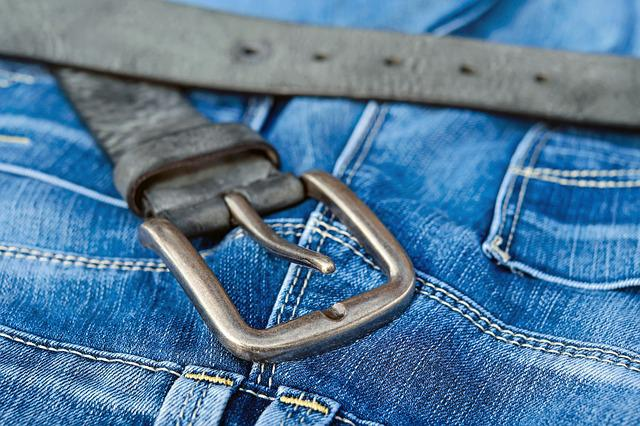 Blue Jeans, Belts, Belt Buckle, Buckle, Metal, Belt