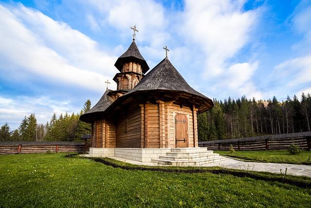 Sihastria Monastery Putnei, Bucovina, Romania