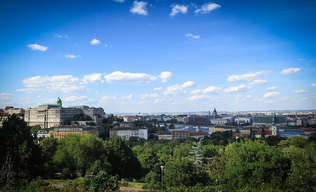 Castle Hill, Budapest, Hungary, City, Buildings