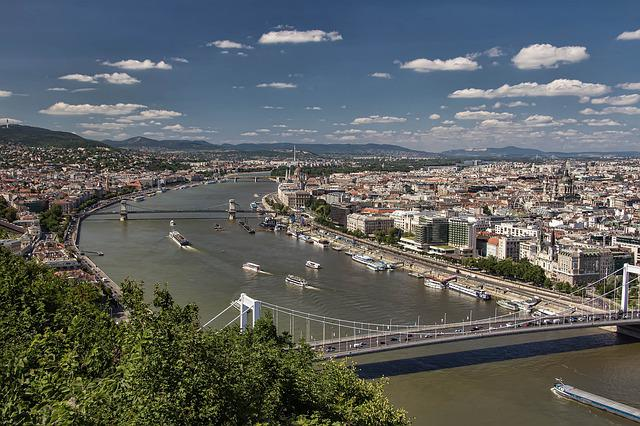 Budapest, Hungary, Views, Centre, Bridge