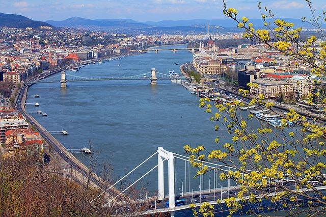 Danube, Budapest, Citadel