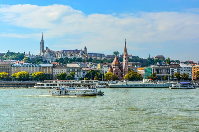 Water, Travel, City, Tourism, River, Danube, Budapest