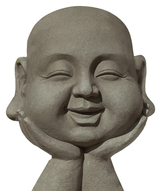 Buddha, Laugh, Fun, Sculpture, Stone Figure, Funny