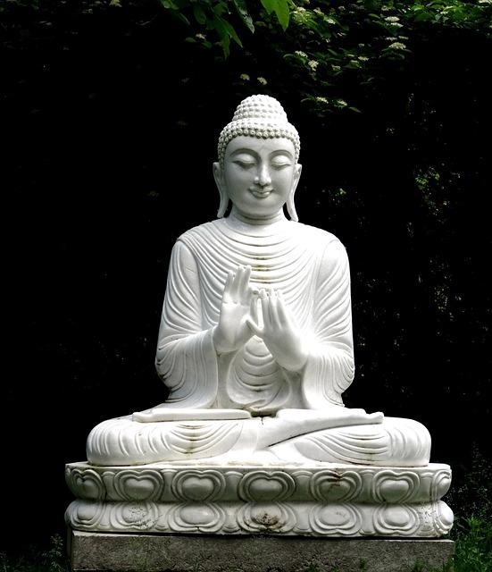 Buddha, Statue, Buddhism, Stone Figure, Religion