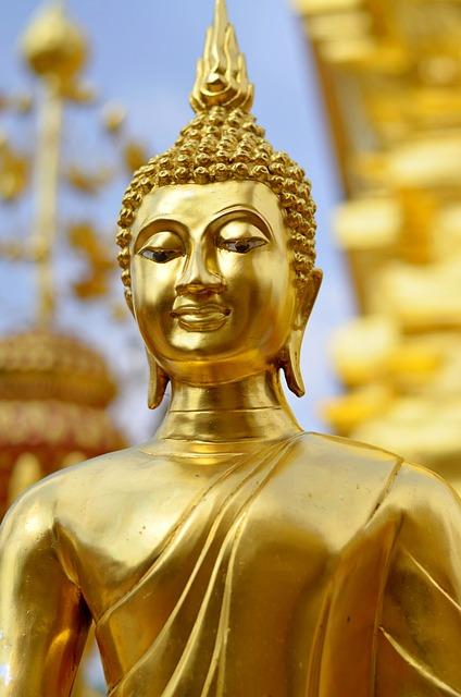 Buddha, Statue, Monument, Buddhism, Temple, Religion