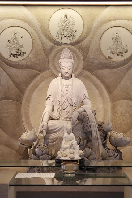 Guanyin, Buddhism, Buddha, Religion, Statue