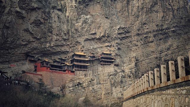 Hanging Temple, China, Buddhism
