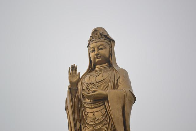 Buddha, Buddhism, China, Guanyin, Gold, Zen