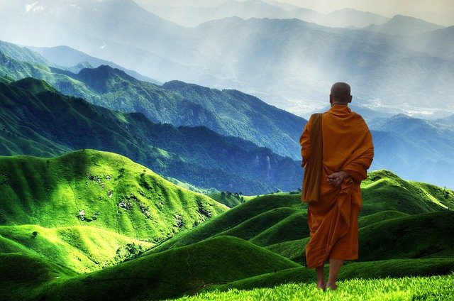 Buddhist, Monk, Buddhism, Meditation, Enlightenment