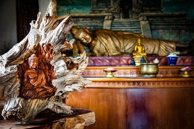 Buddha, Temple, Buddhism, Bali, Gilded