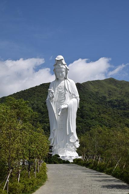 Guanyin Bodhisattva, Goddess Of Mercy, Buddi, Buddhist
