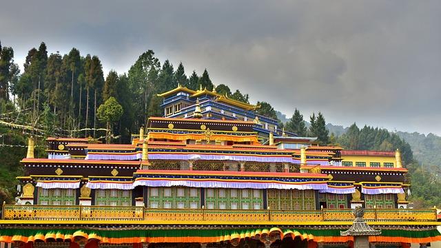 Travel, Outdoors, Temple, Sky, Monastery, Buddhist