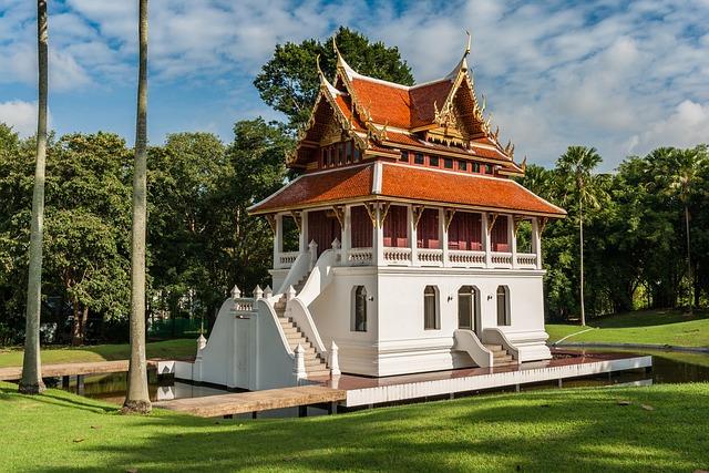 Buddhist Temple Complex Thailand, Buddha, Buddhism