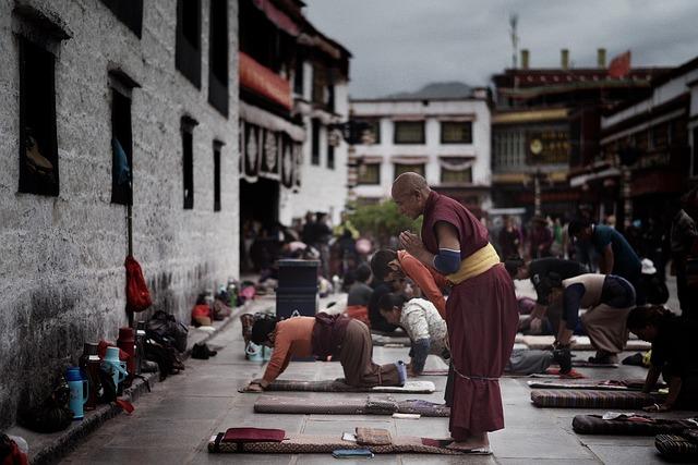 Tibet, Jokhang, Temple, Lhasa, Tibetan, Buddhist