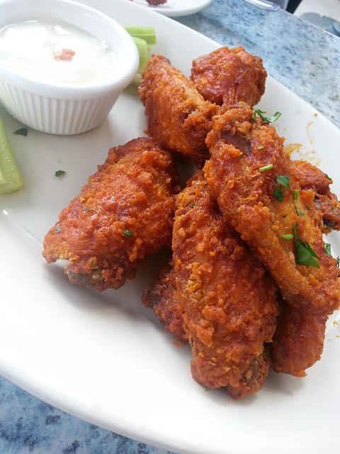 Buffalo Wings, Chicken, Fry