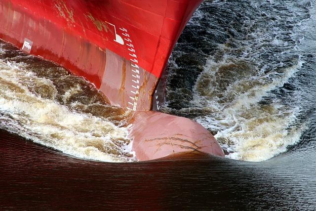 Ship, Shipping, Bulbous Bow, Bug
