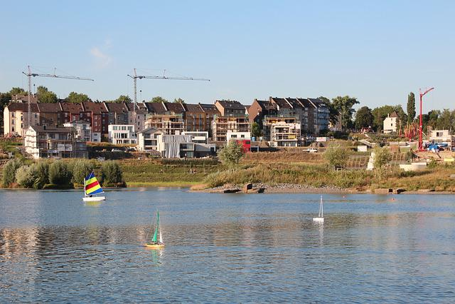 Dortmund, Phoenix Lake, Authority, Build, Crane