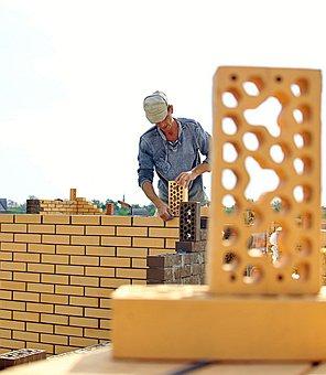 Mason, Brick, Work, Construction, Build