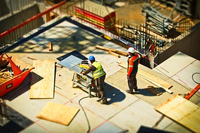 Construction, Site, Build, Construction Work