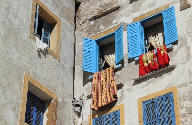 Morocco, Essaouira, Building, Architecture, Africa