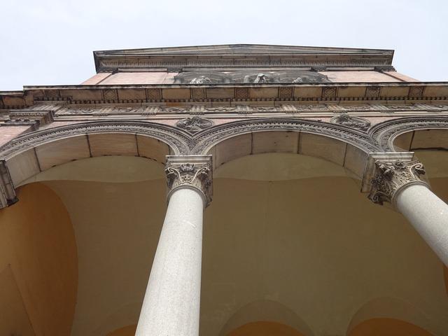 Temple, Church, Pillar, Building, Architecture