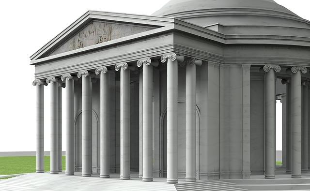 Thomas Jefferson Memorial, Building, Architecture