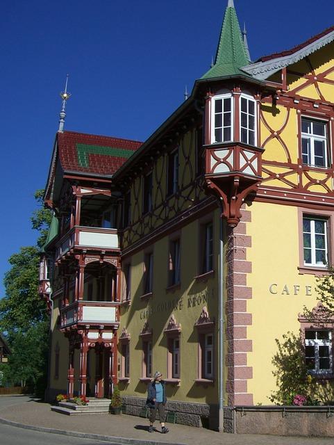 Art Nouveau, Building, Architecture, Historical, Facade