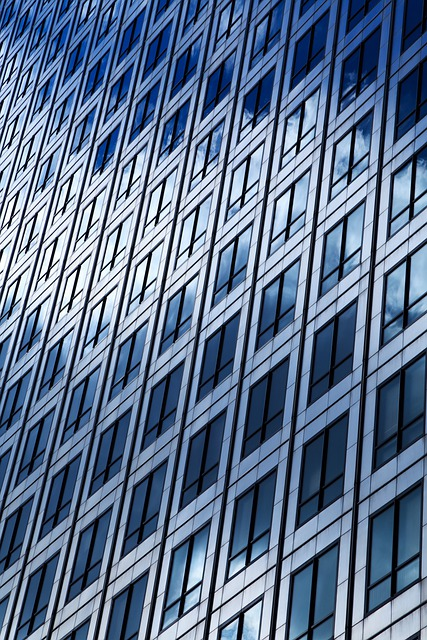 Abstract, Architecture, Background, Blue, Building