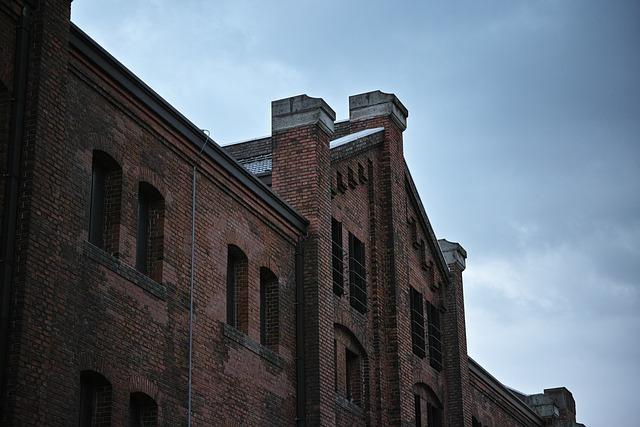 Building, Bill, Brick, Red Brick Warehouse, Yokohama
