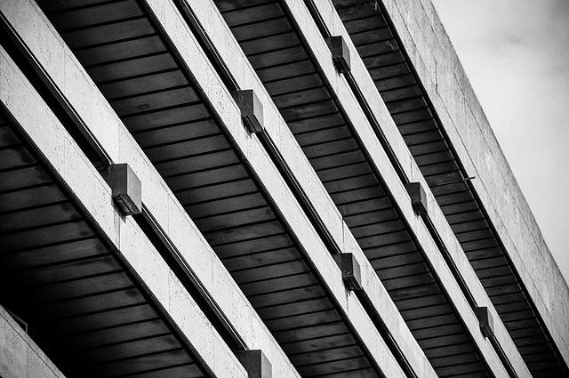 Building, Brutalism, Construction, Concrete, Uk