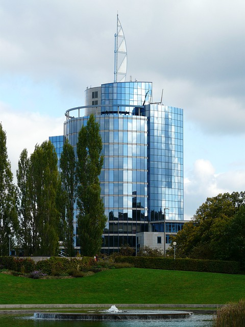 Bülow Tower, Building, Architecture, Modern, Stuttgart