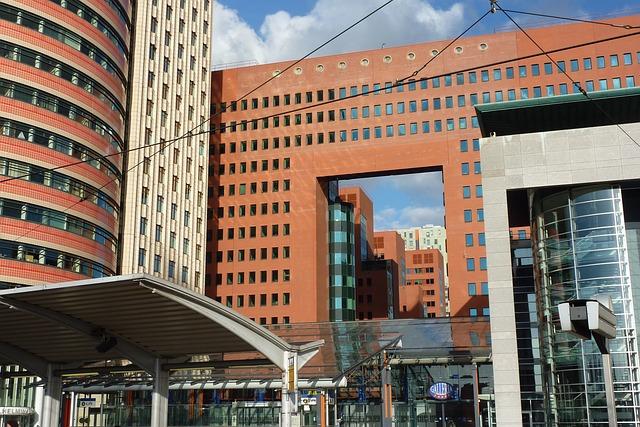 Rotterdam, Architecture, Building, Buildings