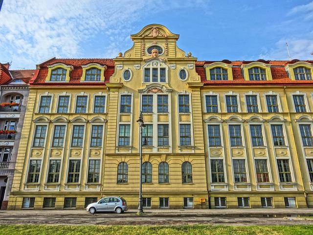 Gmach Technikum Mechanicznego, Bydgoszczy, Building