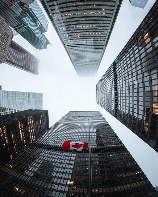 Architecture, Building, Flag, Toronto, Canadianflag