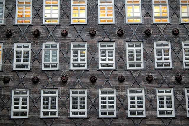 Hamburg, Building, Window, Brick, Chile-house