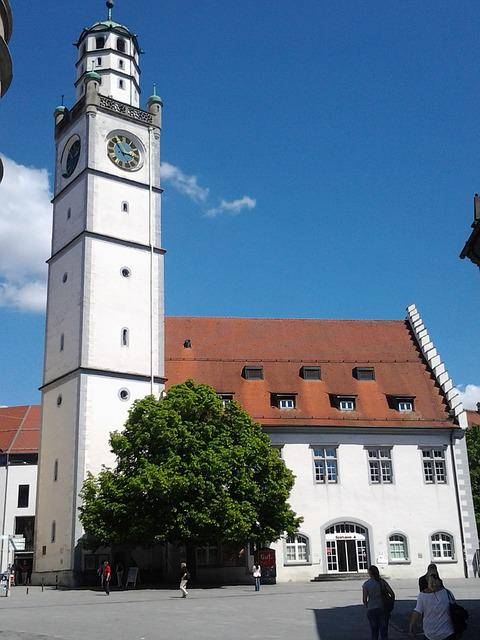 Church, Historically, Monument, Ravensburg, Building