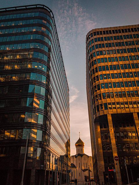 Moscow, Building, Russia, City, Architecture