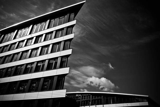 Architecture, Office, Building, Window, City, Facade