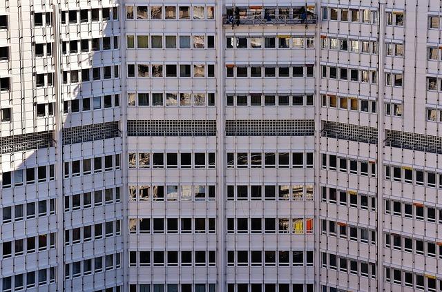 Skyscraper, Building Complex, Architecture, Facade