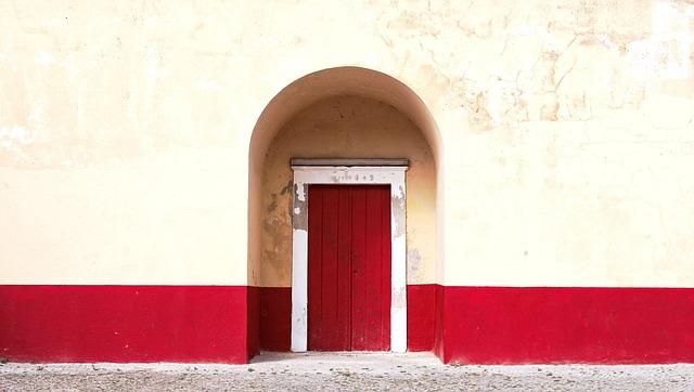 Arch, Architecture, Building, Concrete Surface, Door
