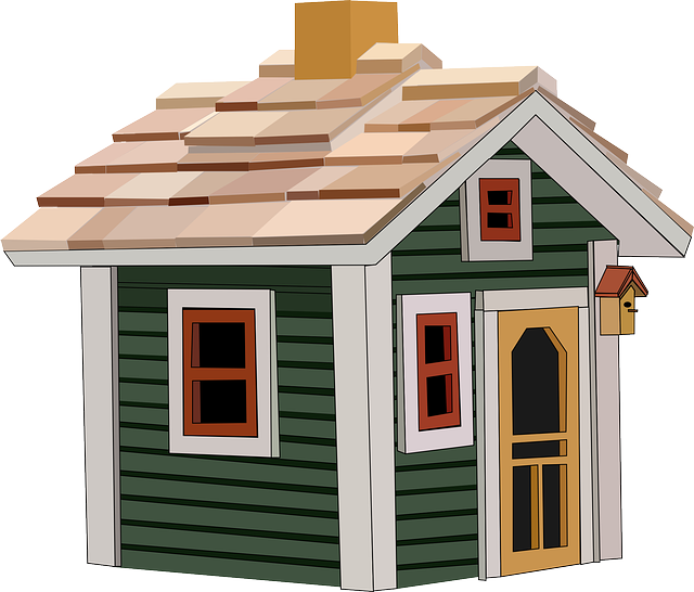 Cottage, House, Home, Building, Little, Window, Roof