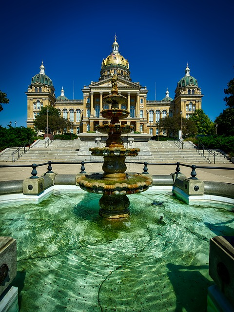 Des Moines, Iowa, State Capitol, Government, Building