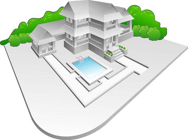 Estate, Villa, Architecture, Building, Home, House