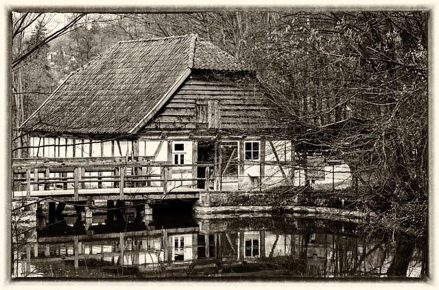 Farmhouse, Fachwerkhaus, Building, Old Farmhouse