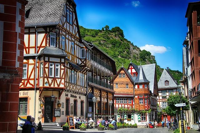 Building, Europe, Bacharach, Germany