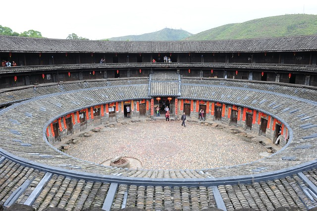 Round House, Oura, Hakka, Old, Klunky, Building